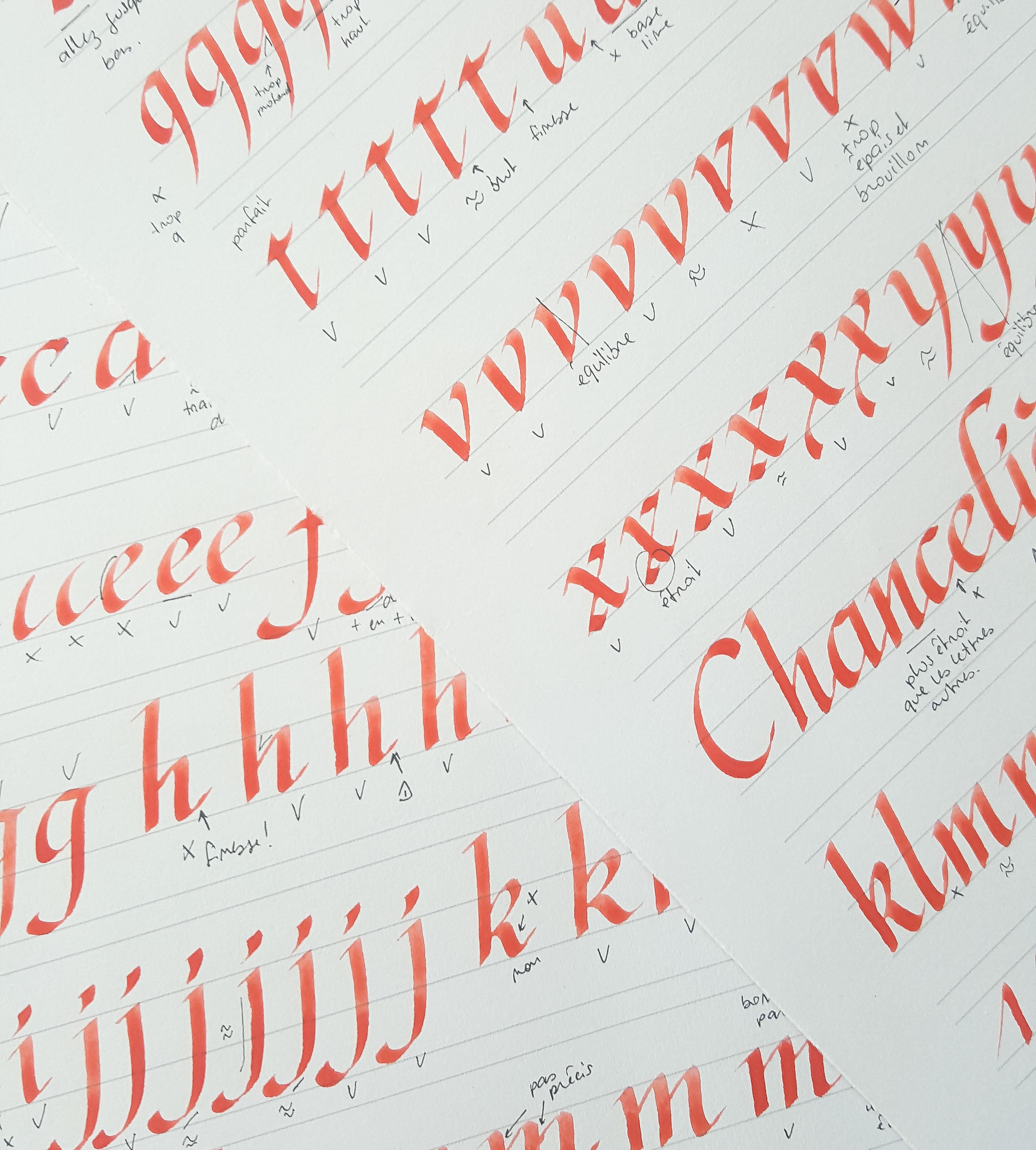 Apprendre la calligraphie : par où commencer ?